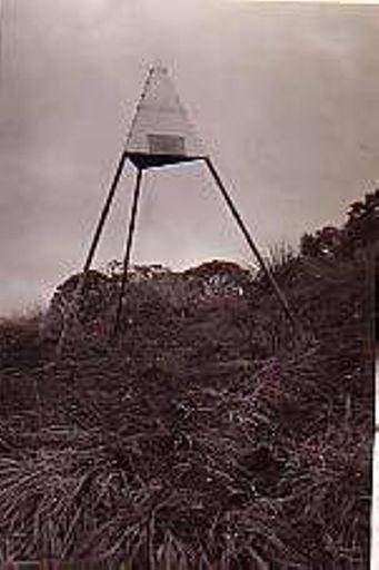 Memorial Trig on 'Twin Peak', April 1937