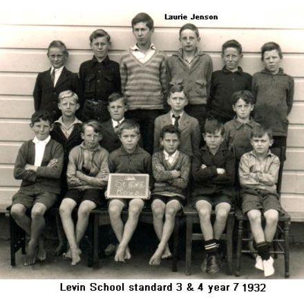 Laurie Jenson Levin School year 7 1932