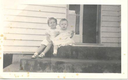 Christene and Kathryn Elliot, 1959 -1960