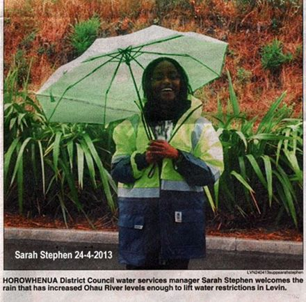 Sarah Stephen Horowhenua district Council
