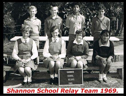 Shannon School Relay Team, 1969.