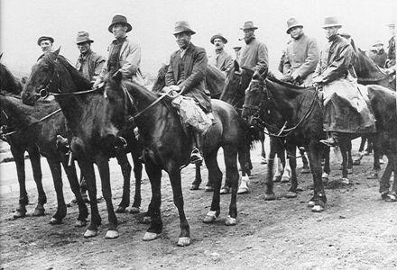 Levin contingent of Special Constables, 1913