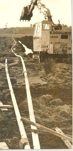 Kapuni gas feeder pipeline to Levin, 1969