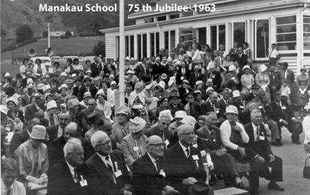 Manakau School 75th Jubilee 1963