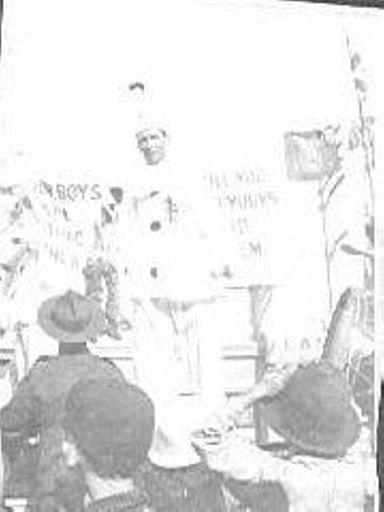 Parade, 1914-1918 Levin