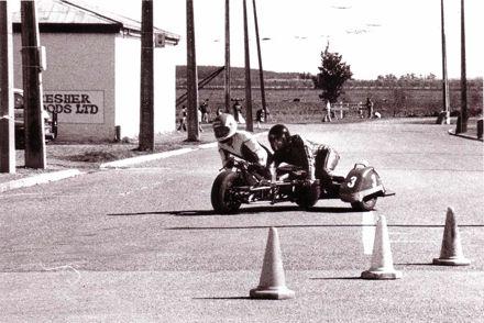 Motorcycle Sidecar Street Racing, 1980's-90's