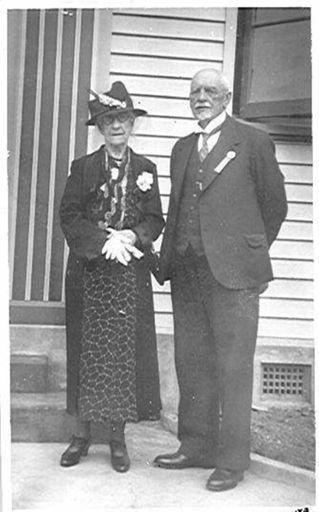 Mr & Mrs Goldsmith, Mayor & Mayoress of Levin