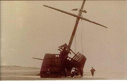 'Hydrabad' shipwreck, 1908