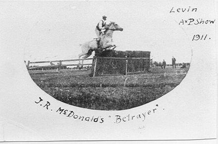 "J R McDonald's ""Betrayer"" (horse)"