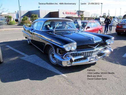 FWF695 1958 Cadillac Sedan Deville