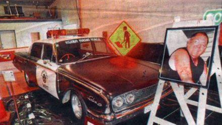 Tribute Highway Pursuit car