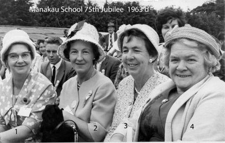 Manakau School 75th Jubilee 1963 d