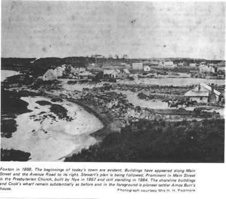 Early Foxton, 1868