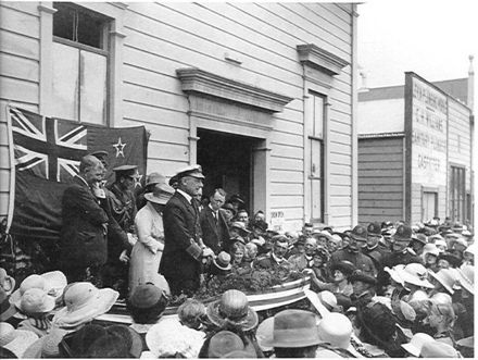Governor General Jellicoe Visits Levin, Early 1920's