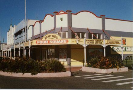 Stuart Iron's Four Square, Foxton
