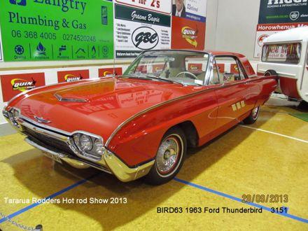 3151 BIRD63 1963 Ford Thunderbird