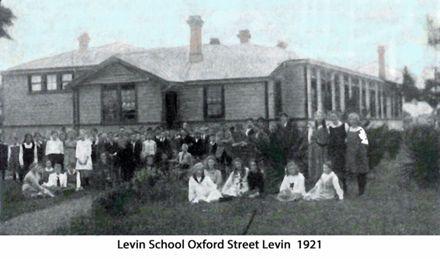Levin School Oxford Street Levin 1921