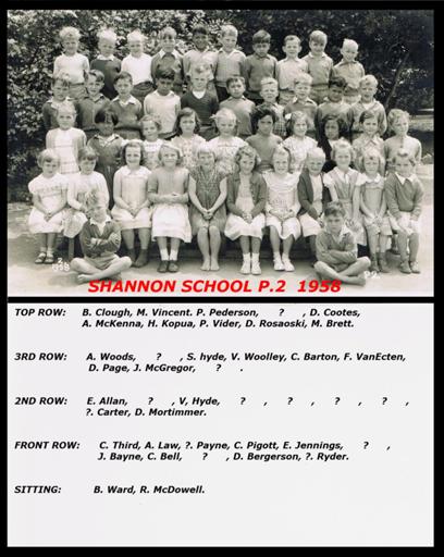 Shannon School P-2, 1958