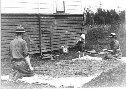 Leslie, Maud & Nancy Adkin, c.1918