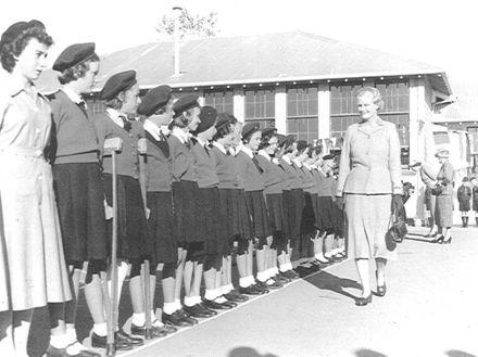 Vice Regal visit to Shannon - c.1955
