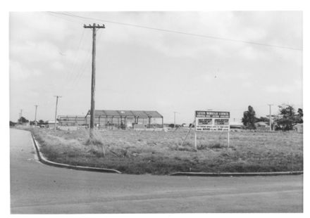 Coventry St., looking south from Beach Rd., 1969