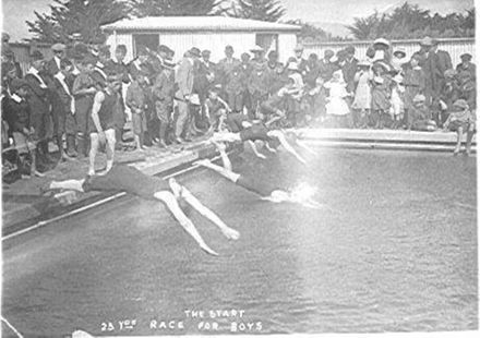 Opening of Coronation Swimming Baths