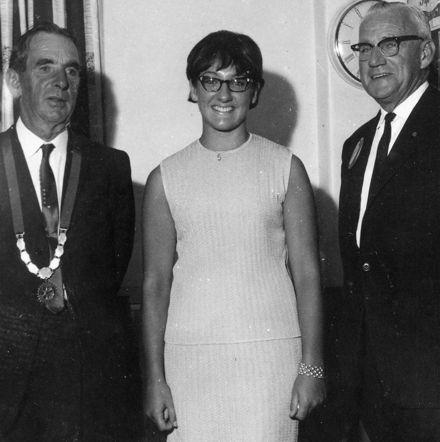 Miss MacKenzie, Mr Laurenson & Mr Mullan, 1968