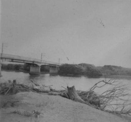 Whirokino Bridge Over Manawatu River, c.1950