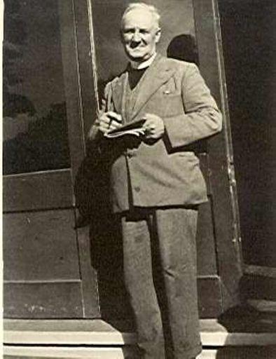 "Rev. A.J. ""Jimmy"" Farnell, Anglican Vicar, Shannon, 1924-29"