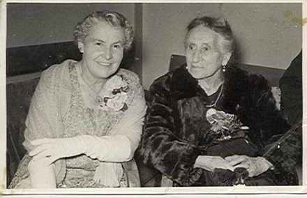 Mrs Lett with Unidentified Woman