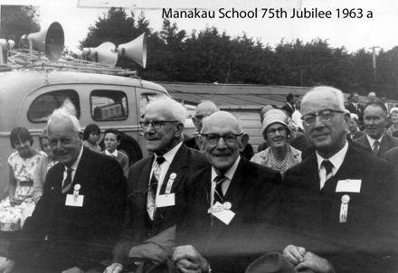 Manakau School 75th Jubilee 1963 a