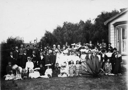 Butt - Shaw Wedding Group, c.1908