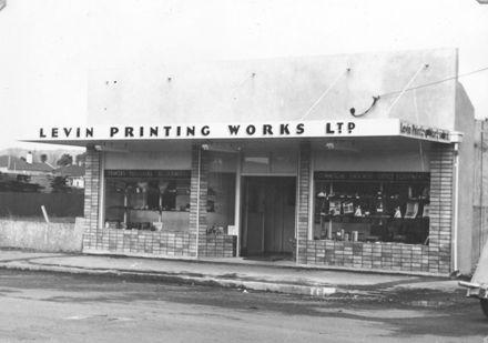 Levin Printing Works Ltd - new premises
