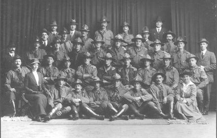 Legion of Frontiersmen, 1914