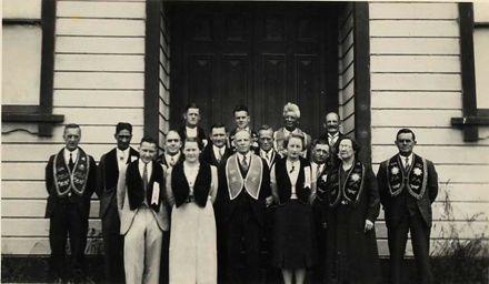Druids Manawatu Lodge, 1938