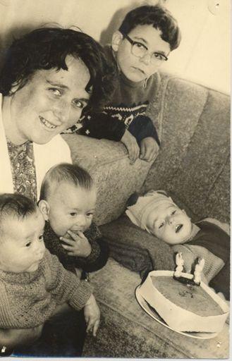 Gordon Hick (Shannon) celebrates his 2nd birthday, 1969