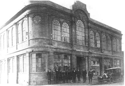 Levin Borough Municipal Building, Bath St., c.1930