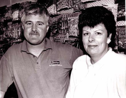Mr & Mrs Richard Hening, 1980's-90's