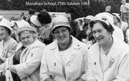 Manakau School 75th Jubilee 1963 t