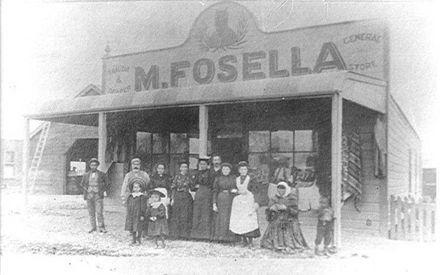 M. Fosella (Tailor & Draper, General Store)
