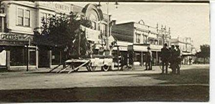 Peace Parade, Oxford St., 1918