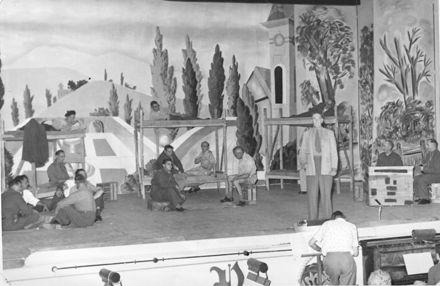 Unidentified show - military scene