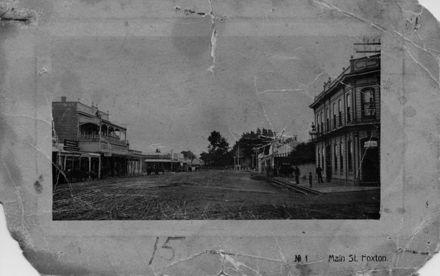 Main Street, Foxton c.1912
