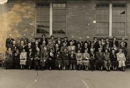 Foxton School Reunion 1954
