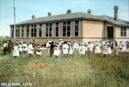 Levin School, Oxford Street, 1907