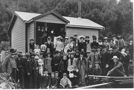 Reikorangi Cream Skimming Station Opening, c.1902-04