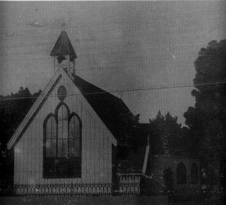 All Saints Church  Foxton 1912