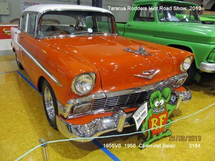3164 1956V6 1956 Chevrolet Belair