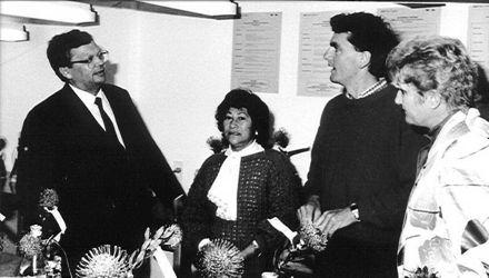 Official visit by Prime Minister, David Lange, 1986