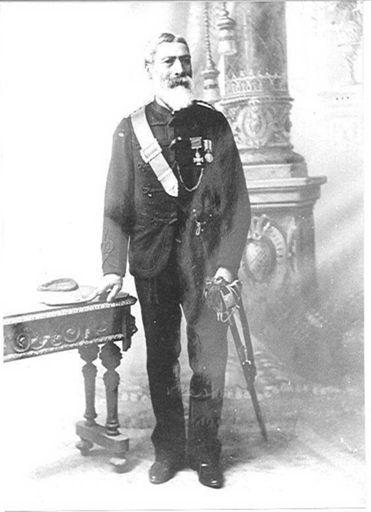 Major Kemp - Te Rangihiwinui  Keepa